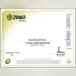 Certifikát - Eva Severin Šporcová