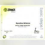 Certifikát - Karolina Štraus Idris