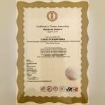 Certifikát - Lucie Otradovská