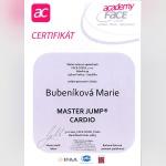 Certifikát - Marie Bubeníková