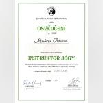 Certifikát - Martina Petrová