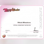 Certifikát - Nikol Mikesková