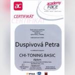 Certifikát - Petra Záveská
