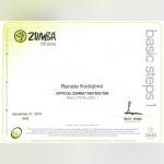 Certifikát - Renáta Kodajová