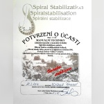Certifikát - Vendulka Pánková