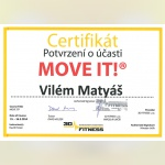 Certifikát - Vilém Matyáš