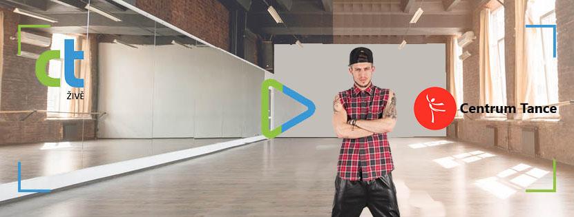 CT živě - street dance choreo s Filipem Jankovičem