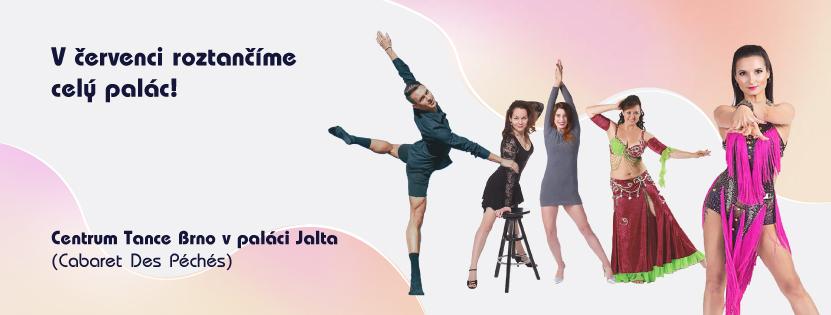 Centrum Tance Brno otevírá letní lekce - léto 2021