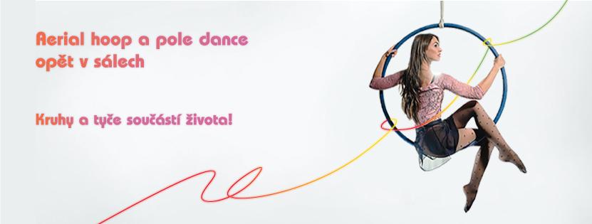 Aerial hoop a pole dance kurzy v Praze