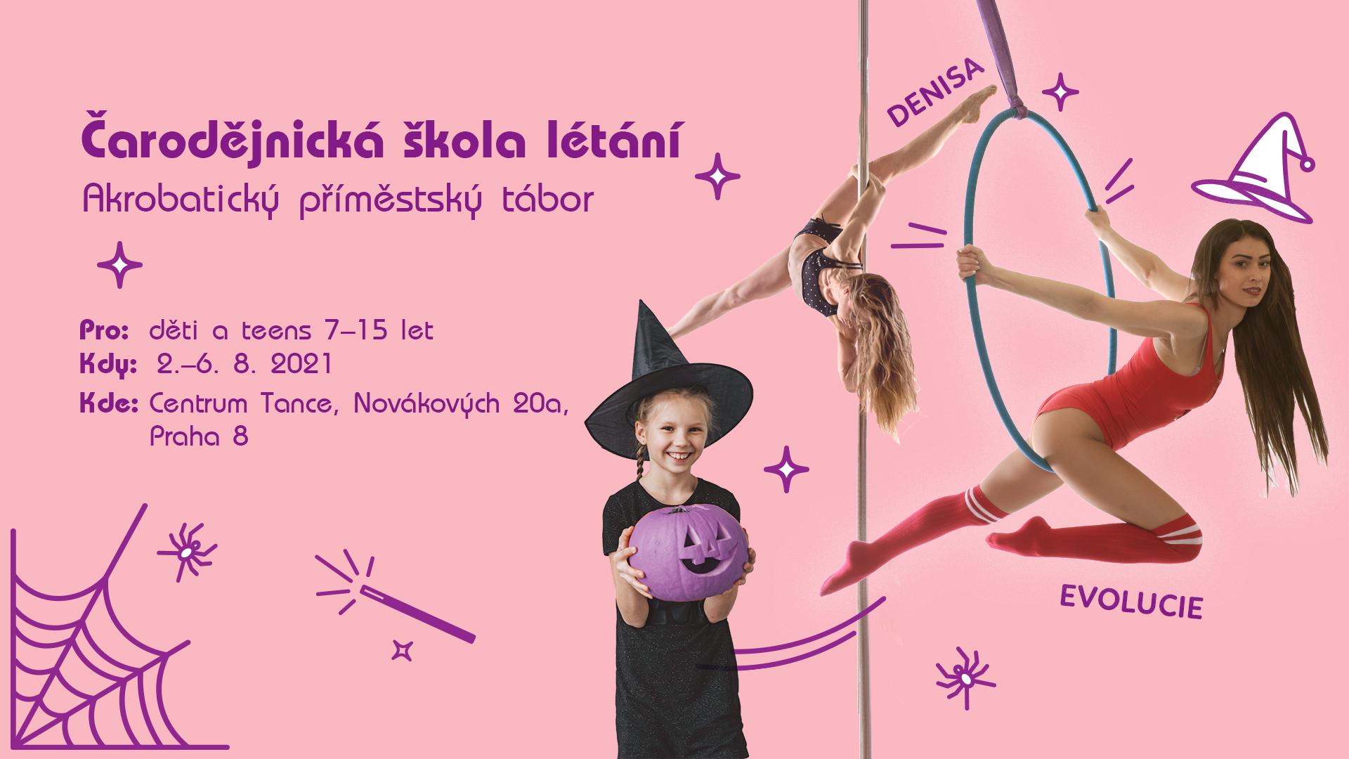 Akrobatický příměstský tábor v Praze
