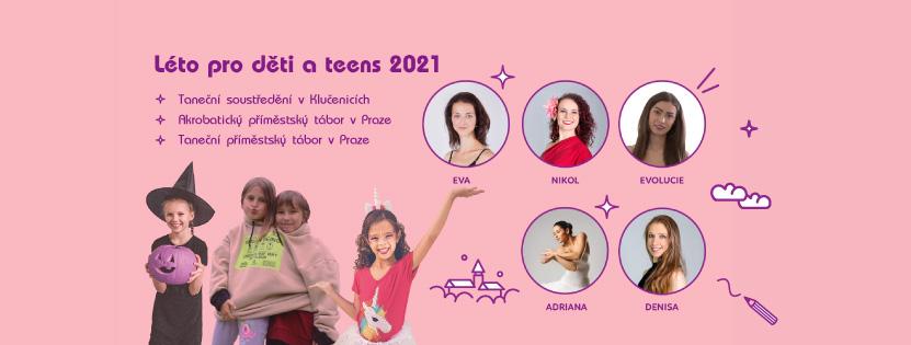 Léto pro děti a teens 2021