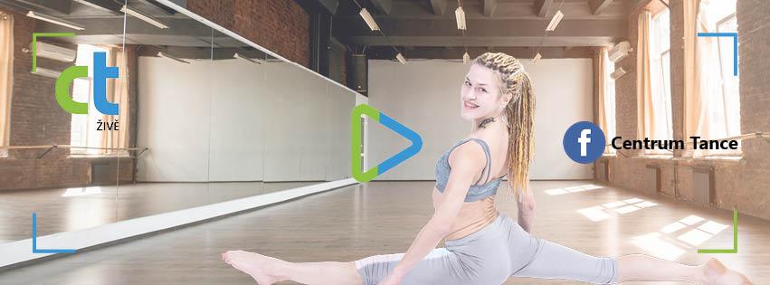 CT živě - pilates online s Janou Cindlerovou