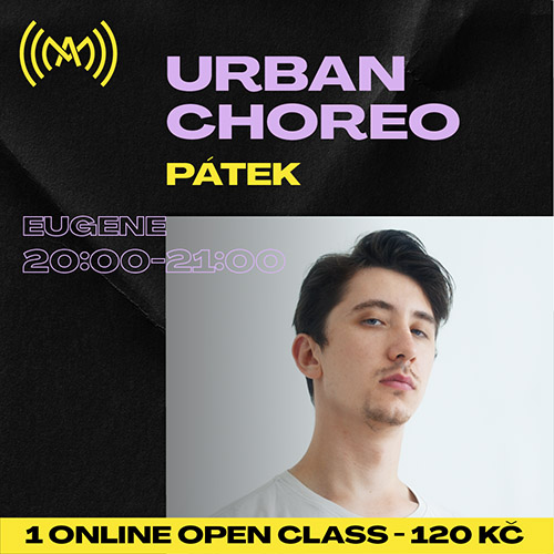 Urban dance choreo (live stream ZOOM)