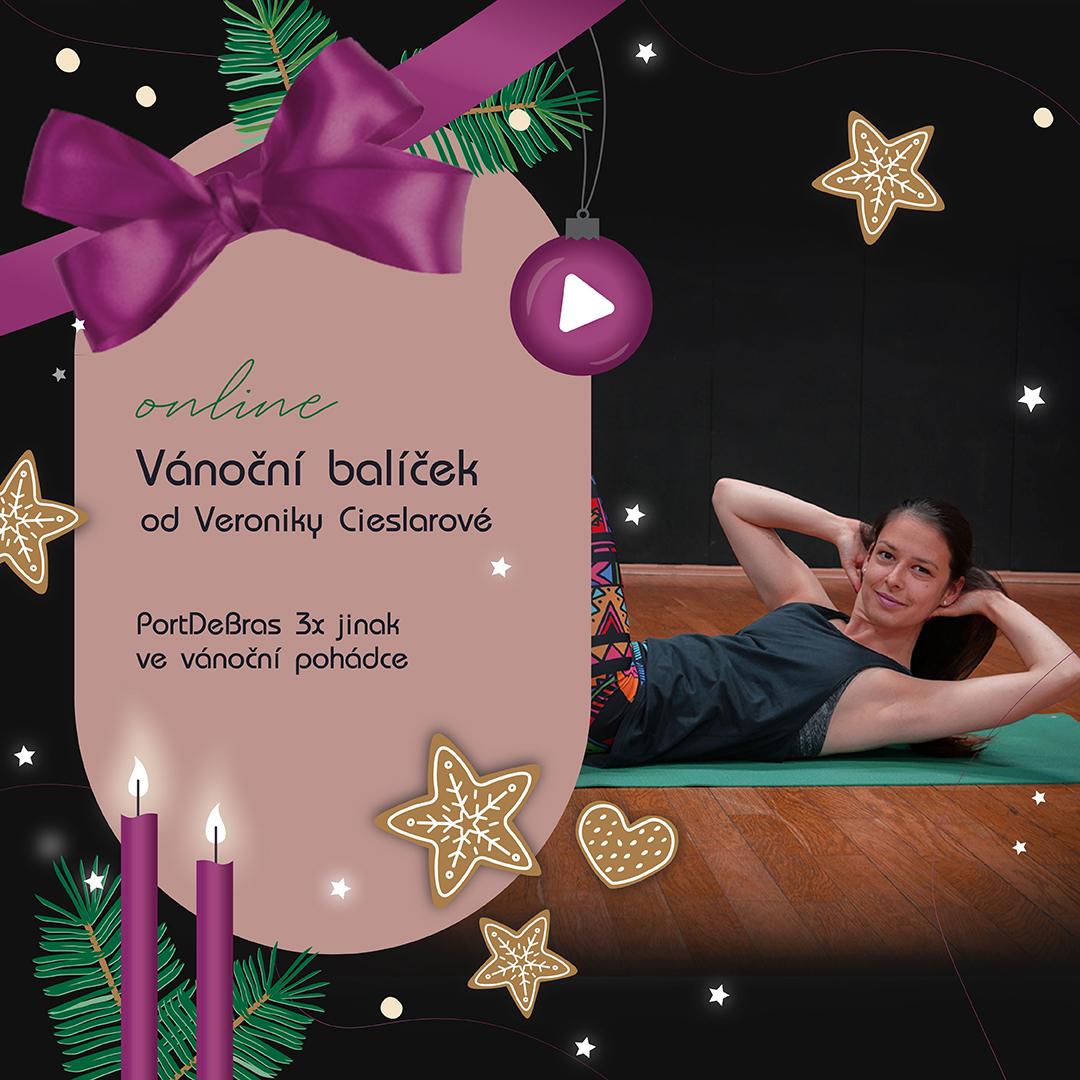 Vánoční balíček od Veroniky Cieslarové