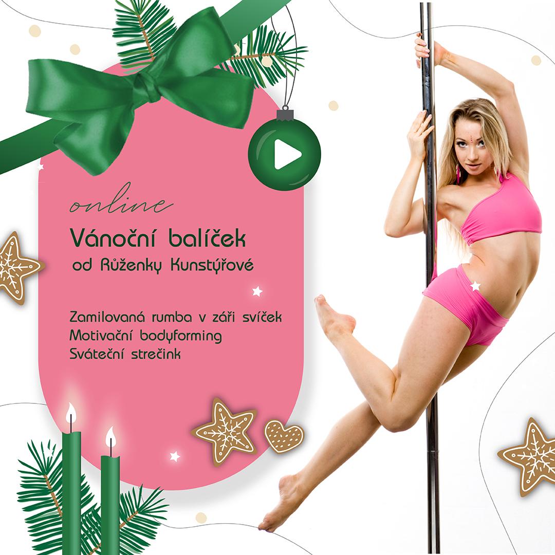 Vánoční balíček od Růženky Kunstýřové