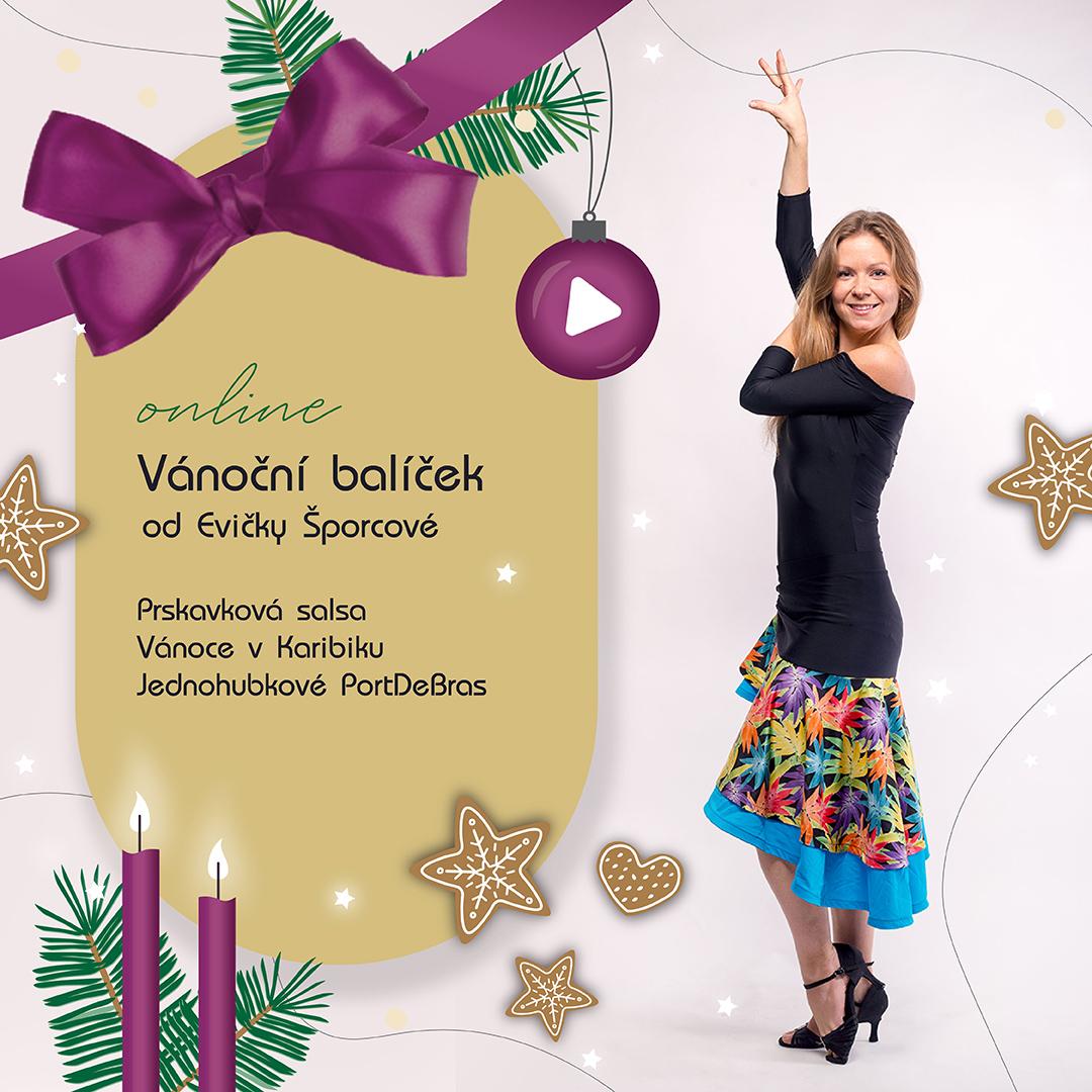 Vánoční balíček od Evičky Šporcové