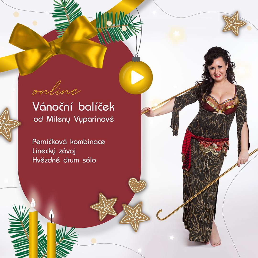 Vánoční balíček od Mileny Vyparinové