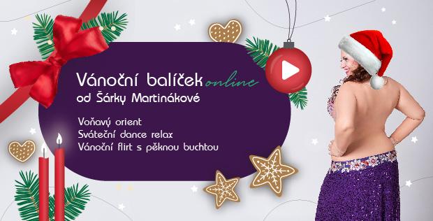 Vánoční balíček od Šárky Martinákové