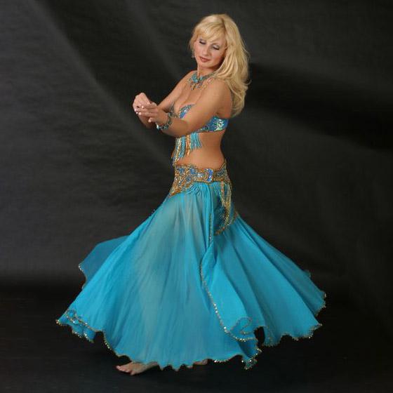 Orientální tanec pro nejpokročilejší tanečnice