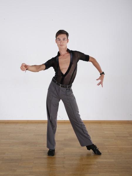 Latin dance sólo variace