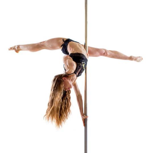 Pole dance flexi: mírně pokročilí a výše