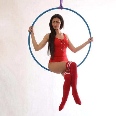 Aerial Hoop: mírně pokročilí