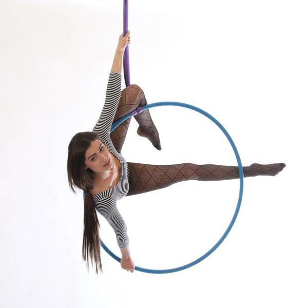 Aerial Hoop: středně pokročilí a výše