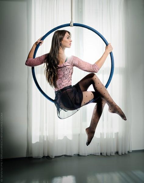 Aerial hoop choreo