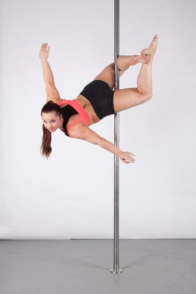 Pole dance spinning