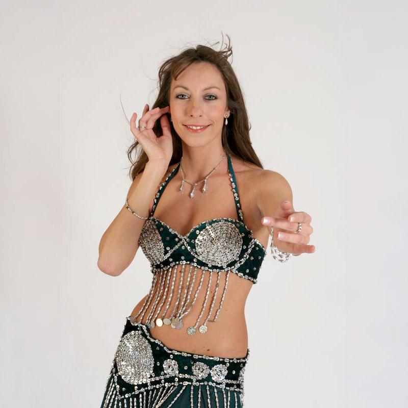 Orientální tanec ve svižném tempu