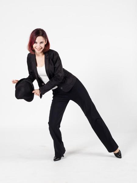 Lady sexy dance/High heels (Google Meet)