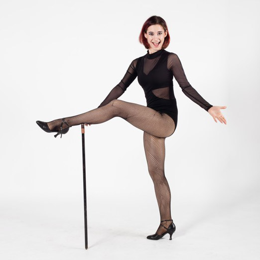 Lady sexy dance a high heels