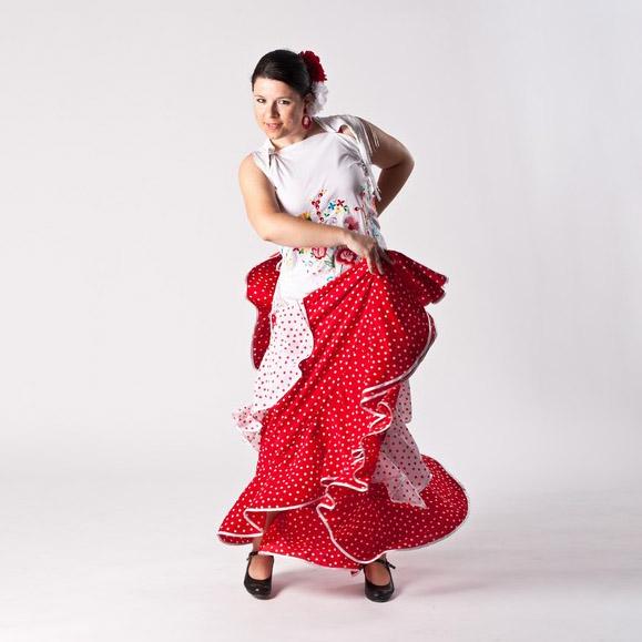 Flamenco: Guajira s vějířem