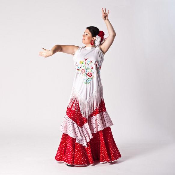 Flamenco: Zorongo s vějířem