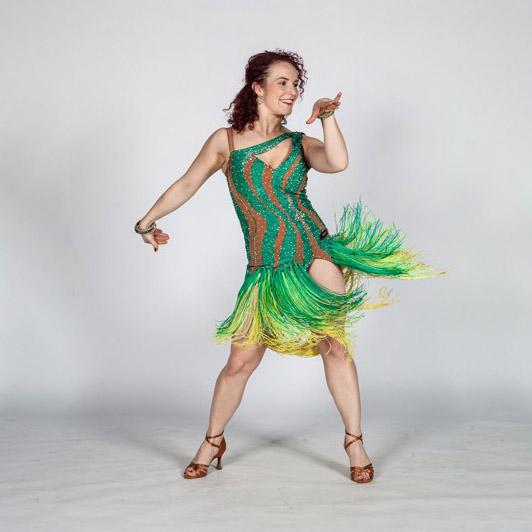 Latin dance sólo: středně pokročilí a výše