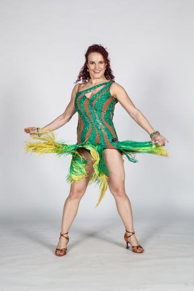 Latin dance pro teens