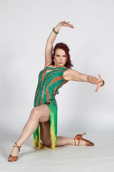 Latin dance sólo: paso doble