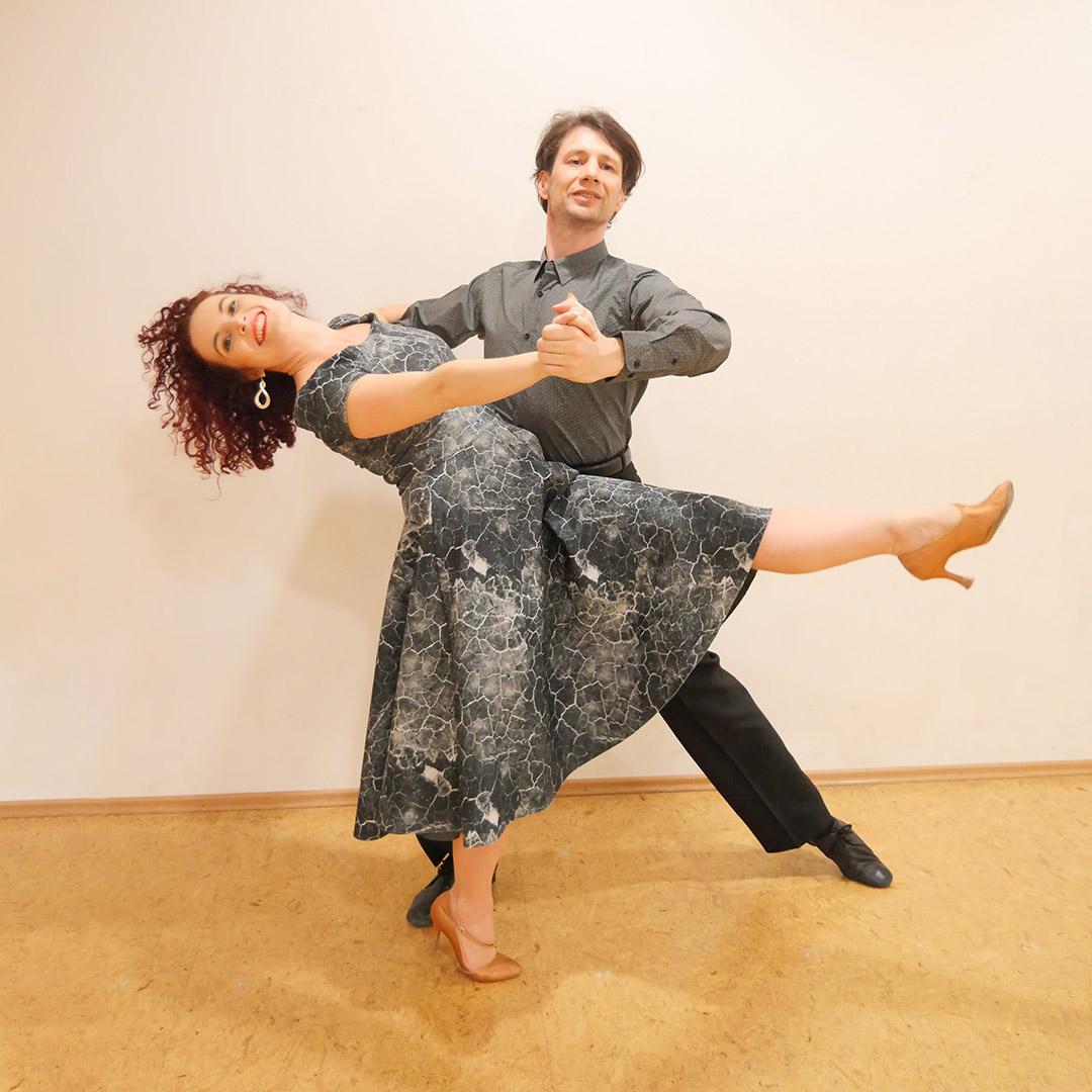 Párové společenské tance: začátečníci a výše