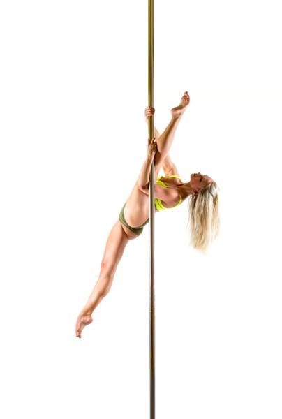 Pole dance choreo: Mírně pokročilí a výše