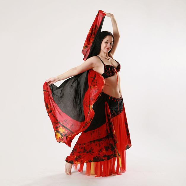 Relaxační orientální tanec (Google meet)