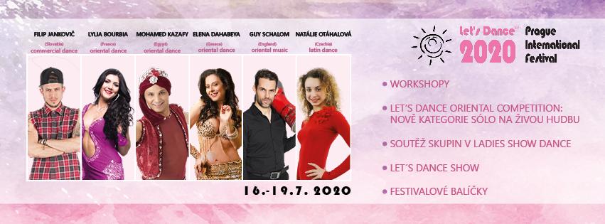 Festival Let´s Dance 16.-19.7.2020